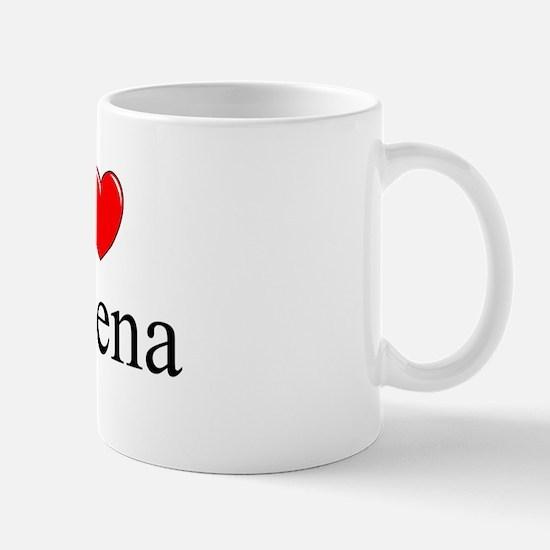 """""""I Love Helena"""" Mug"""