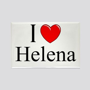 """I Love Helena"" Rectangle Magnet"