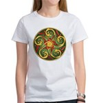 Celtic Pentacle Spiral Women's T-Shirt