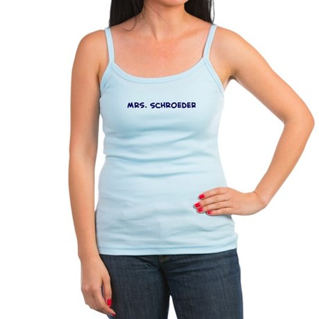 Mrs. Schroeder Jr. Spaghetti Tank