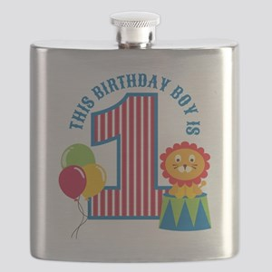 Circus1stBirthday Flask