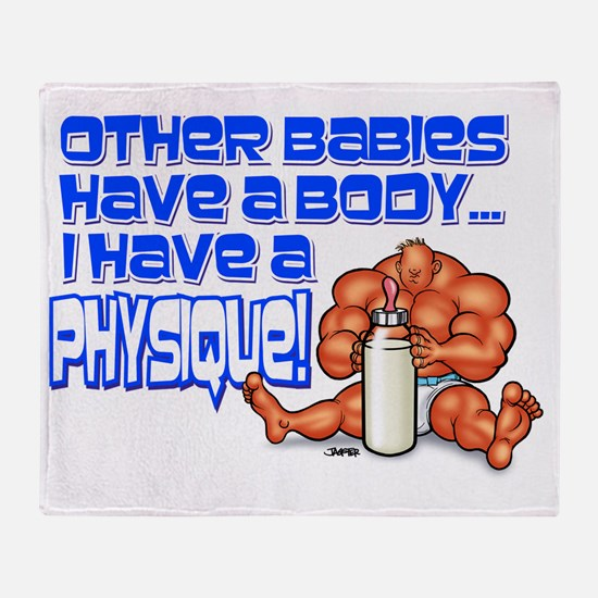 BODY_PHYSIQUE Throw Blanket