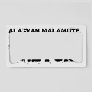 Alaskan Malamute License Plate Holder