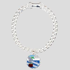 8524_bird_cartoon Charm Bracelet, One Charm