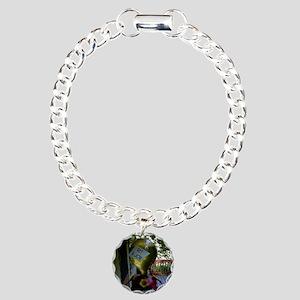 7963_bird_cartoon Charm Bracelet, One Charm