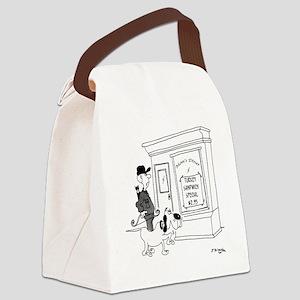 5212_hunting_cartoon Canvas Lunch Bag