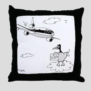 3159_bird_cartoon Throw Pillow