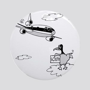 3159_bird_cartoon Round Ornament