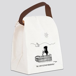 2664_archaeology_cartoon Canvas Lunch Bag