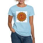 Celtic Knotwork Sun Women's Light T-Shirt