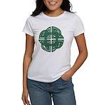 Celtic Four Leaf Clover Women's T-Shirt
