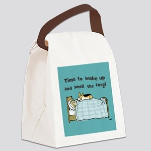 wakeuptile Canvas Lunch Bag