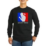 Buy Muay Thai Long Sleeve Dark T-Shirt