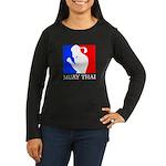 Buy Muay Thai Women's Long Sleeve Dark T-Shirt