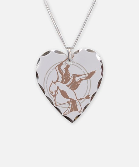 Mockingjay Art Necklace