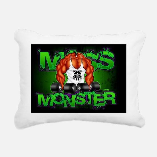 MASS_10x7 Rectangular Canvas Pillow