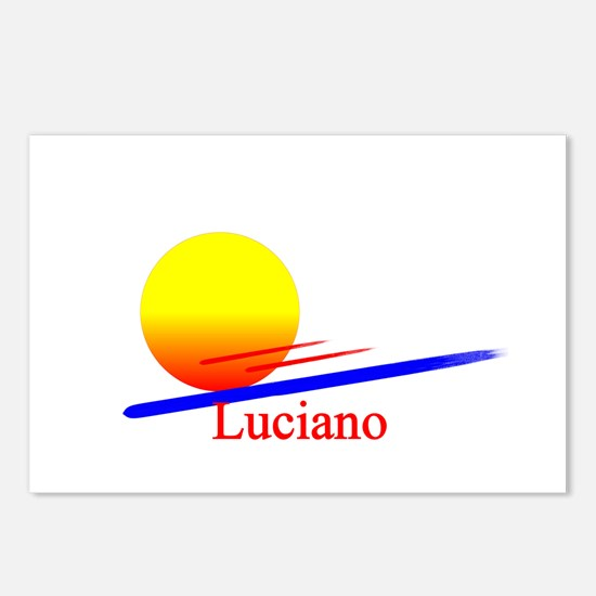 Luciano Postcards (Package of 8)