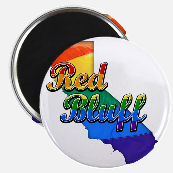 Red Bluff Magnet