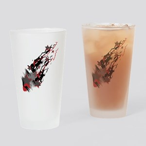 SCREAMING-STARS Drinking Glass