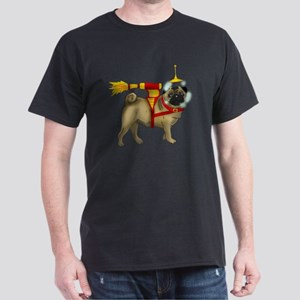 sPACE-Pug Dark T-Shirt