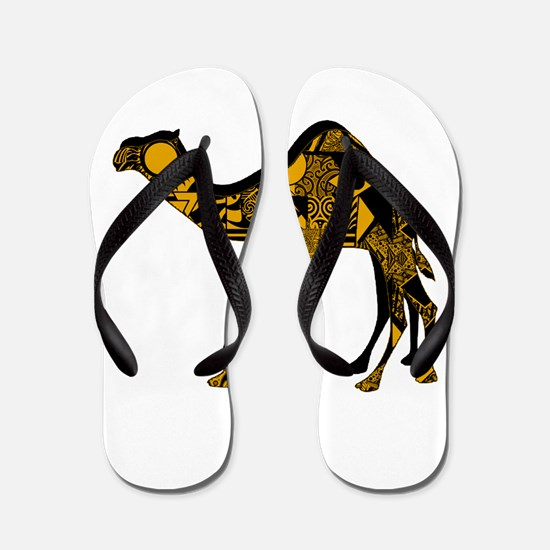 CAMEL EDGE Flip Flops