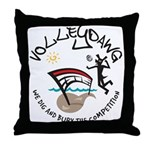Volleydawg Throw Pillow