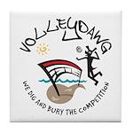 Volleydawg Tile Coaster