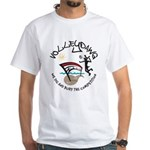 Volleydawg White T-Shirt