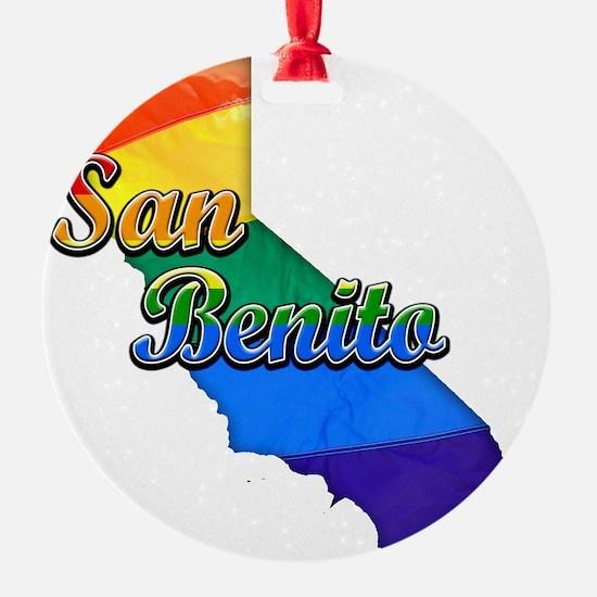 San Benito Ornament