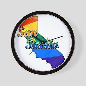 San Benito Wall Clock