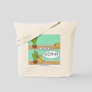 catcuss Tote Bag