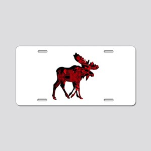 RED HOT Aluminum License Plate