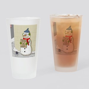 snowbum1 Drinking Glass