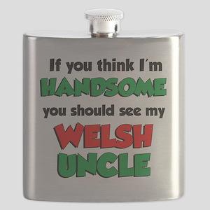 Im Handsome Welsh Uncle Flask