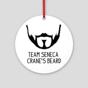 Seneca Crane Round Ornament