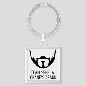Seneca Crane Square Keychain