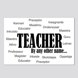 Teacher by any other name Postcards (Package of 8)