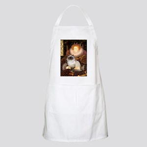 Queen & Himalayan cat BBQ Apron