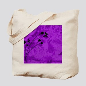 purple forest mousepad Tote Bag