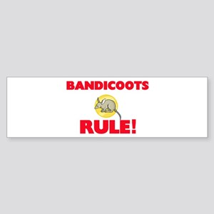 Bandicoots Rule! Bumper Sticker