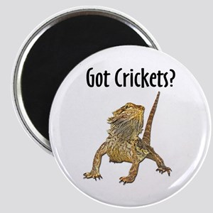 Bearded Dragon Got Crickets Magnet