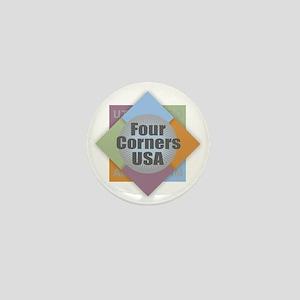 Four Corners Mini Button
