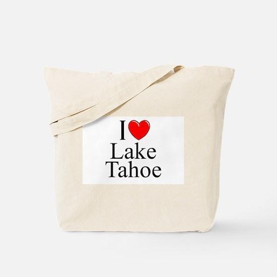 """""""I Love Lake Tahoe"""" Tote Bag"""