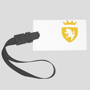 Del Piero Crest Large Luggage Tag