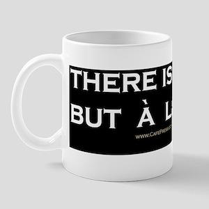 There Is No God 10x3 Mug