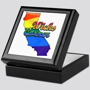 Wicks Corner Keepsake Box
