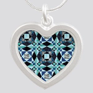 StormySeas Silver Heart Necklace