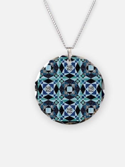StormySeas Necklace Circle Charm