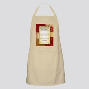 Family Rules Apron