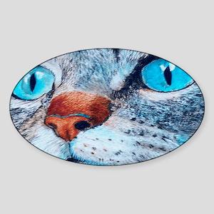 blueclutch Sticker (Oval)